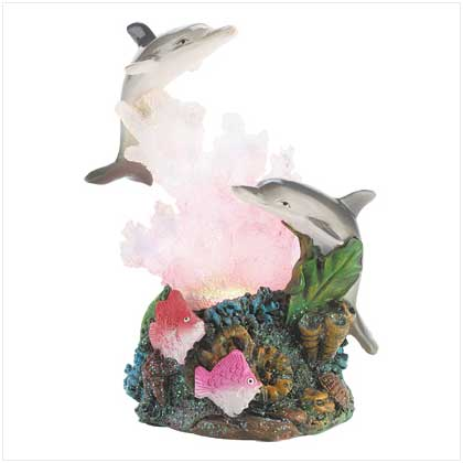 Color-change dolphin Figurine